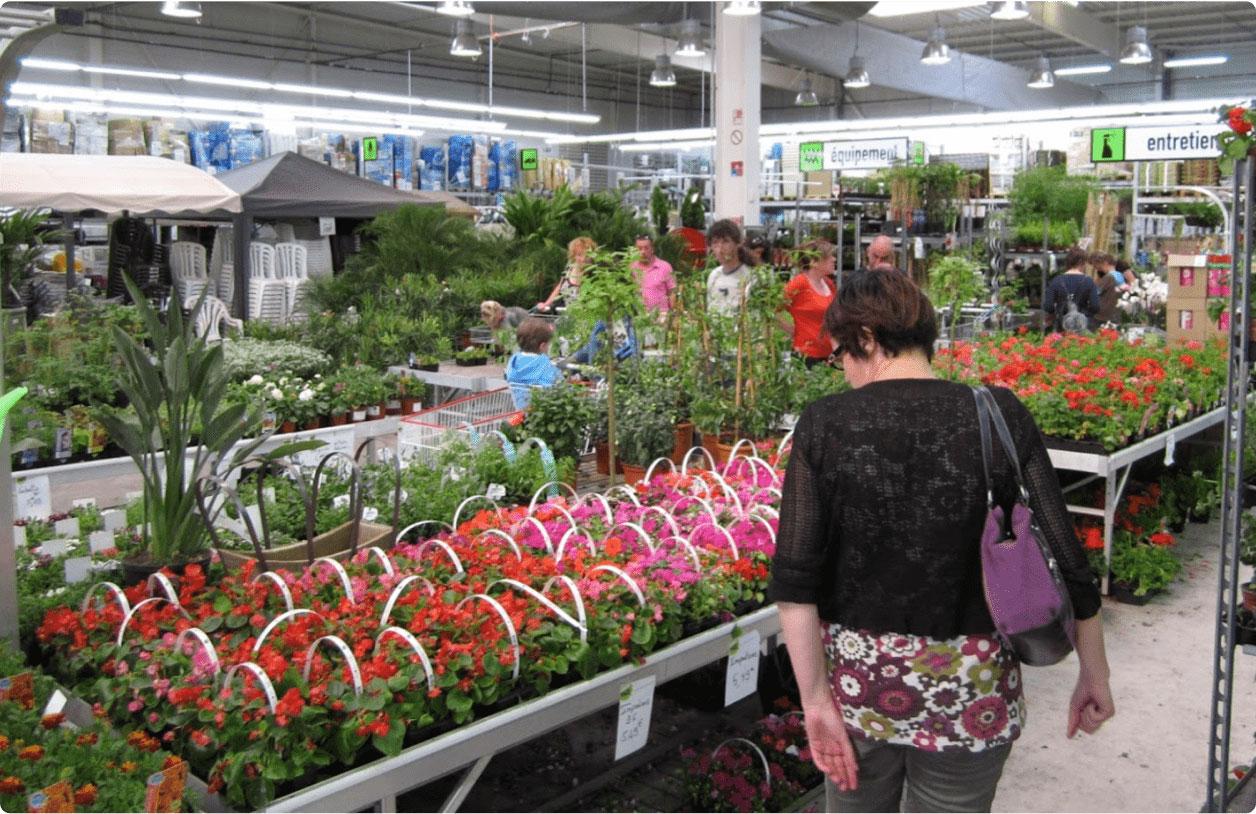 intérieur magasin garden price